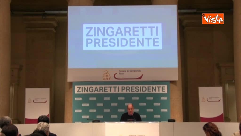 06-03-18 Zingaretti riconfermato presidente Regione Lazio in conferenza stampa a Roma, immagini 01_183245893355300898813
