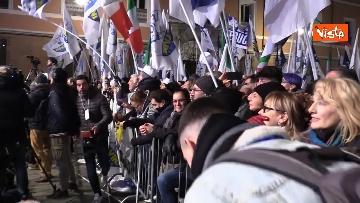 11 - Salvini, Meloni e Berlusconi chiudono la campagna elettorale in Emilia-Romagna a Ravenna