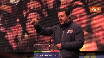 2 - Salvini, Meloni e Berlusconi chiudono la campagna elettorale in Emilia-Romagna a Ravenna