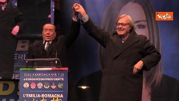 10 - Salvini, Meloni e Berlusconi chiudono la campagna elettorale in Emilia-Romagna a Ravenna