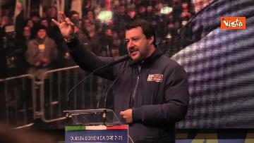 4 - Salvini, Meloni e Berlusconi chiudono la campagna elettorale in Emilia-Romagna a Ravenna