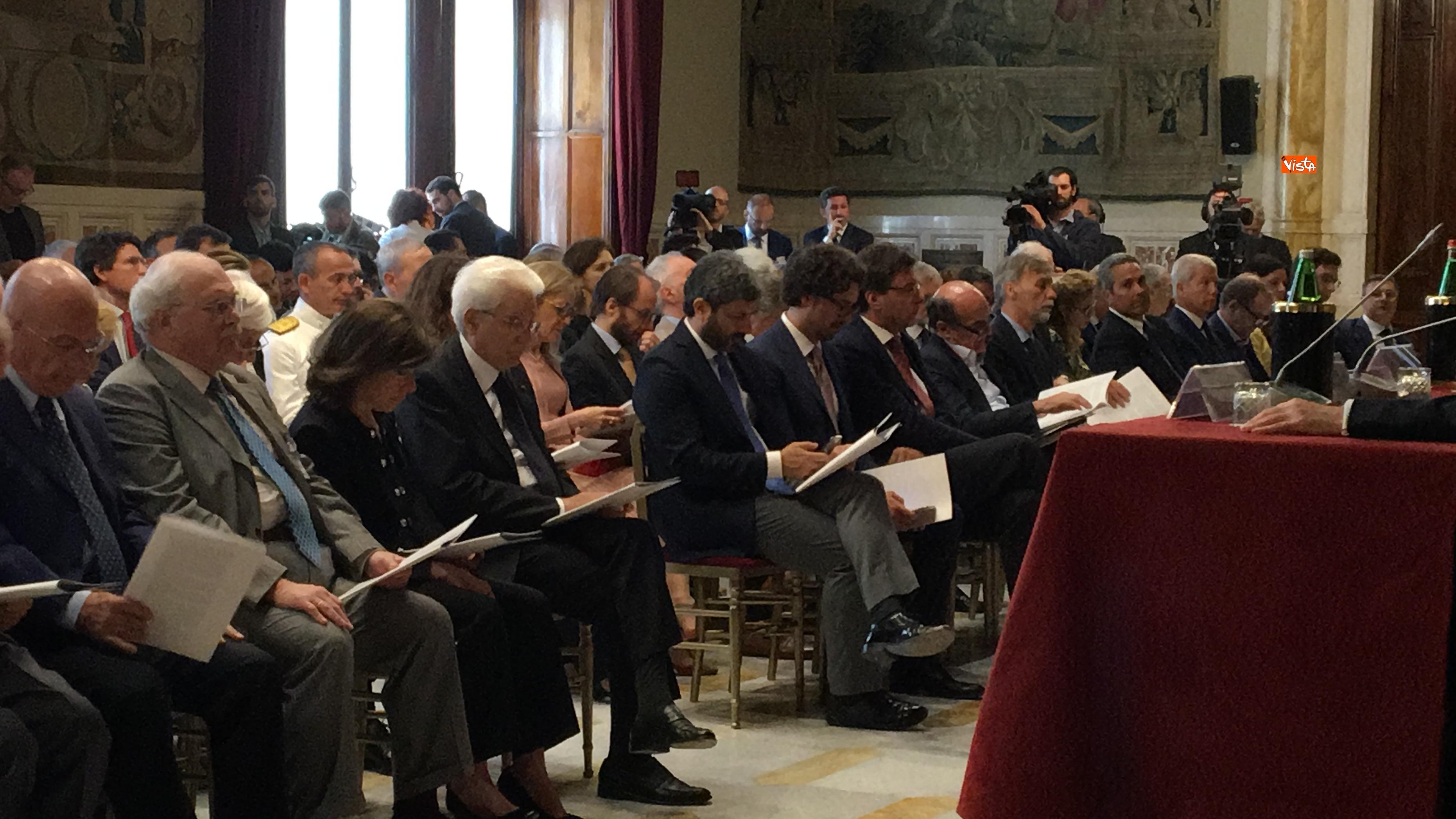 20-06-18 Autorita Trasporti la relazione annuale con Mattarella Toninelli Fico Casellati immagini_11