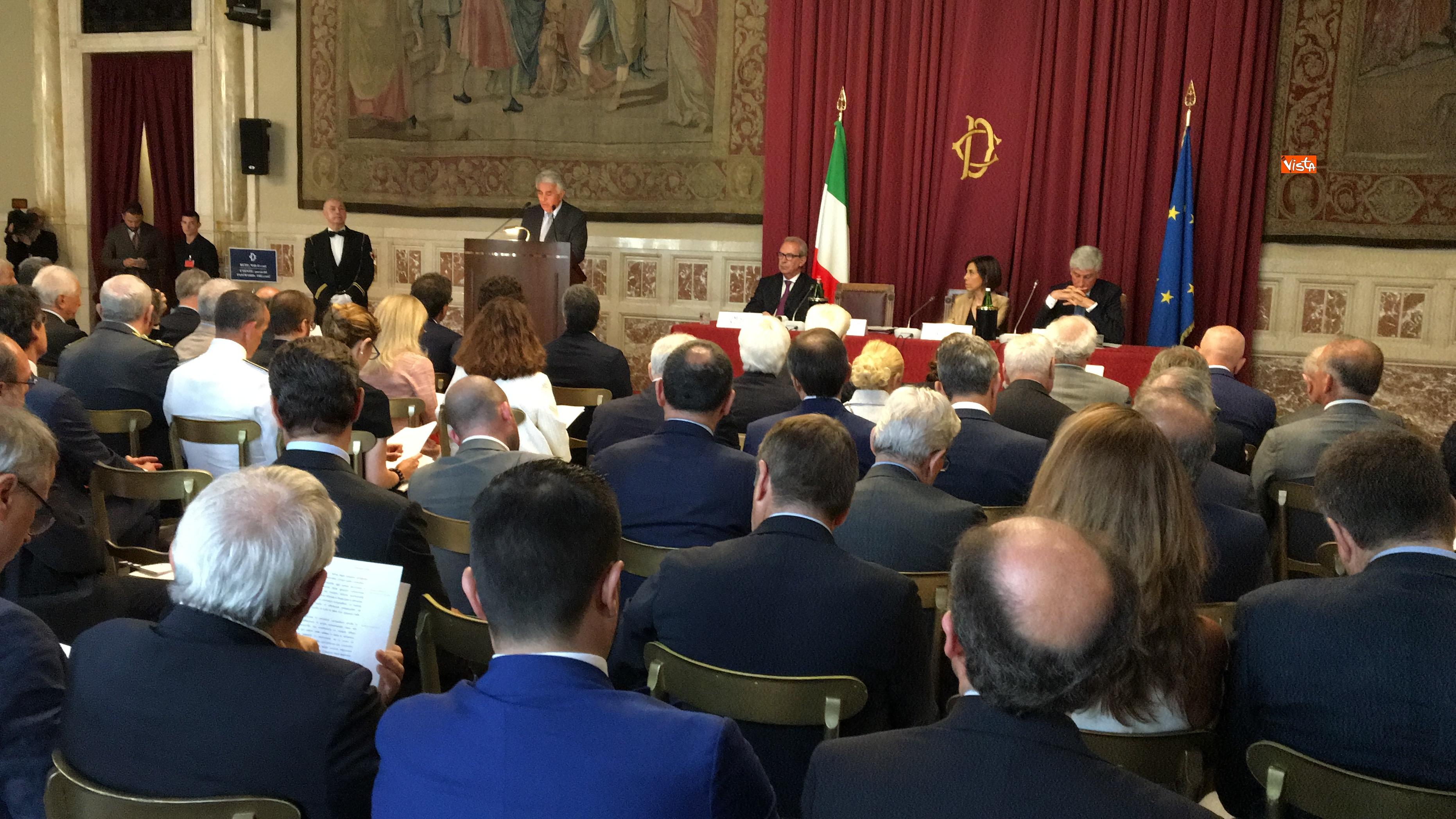 20-06-18 Autorita Trasporti la relazione annuale con Mattarella Toninelli Fico Casellati immagini_10