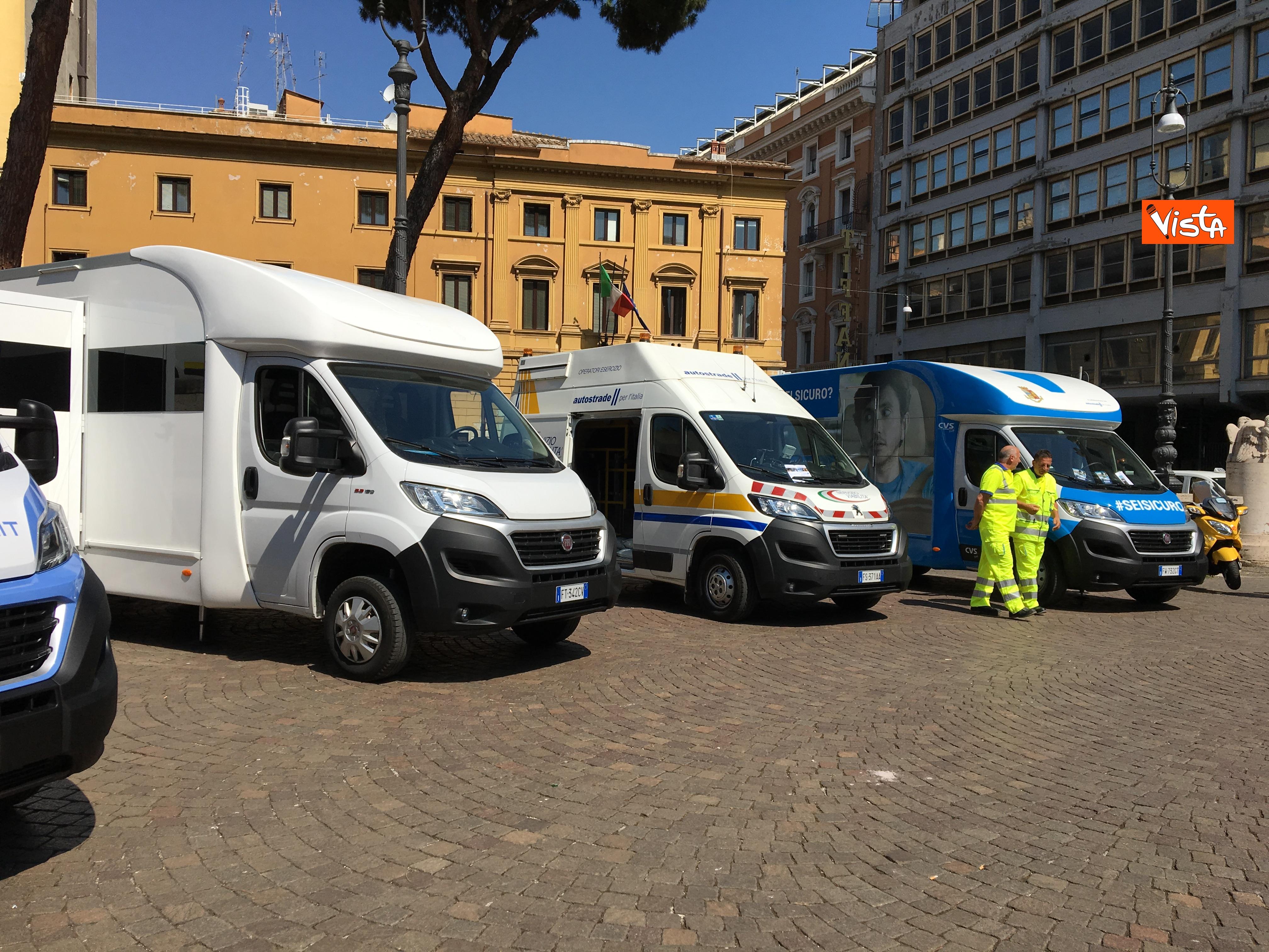 18-07-19 Viabilita Italia il piano di gestione per l esodo estivo presentato al Viminale immagini_02