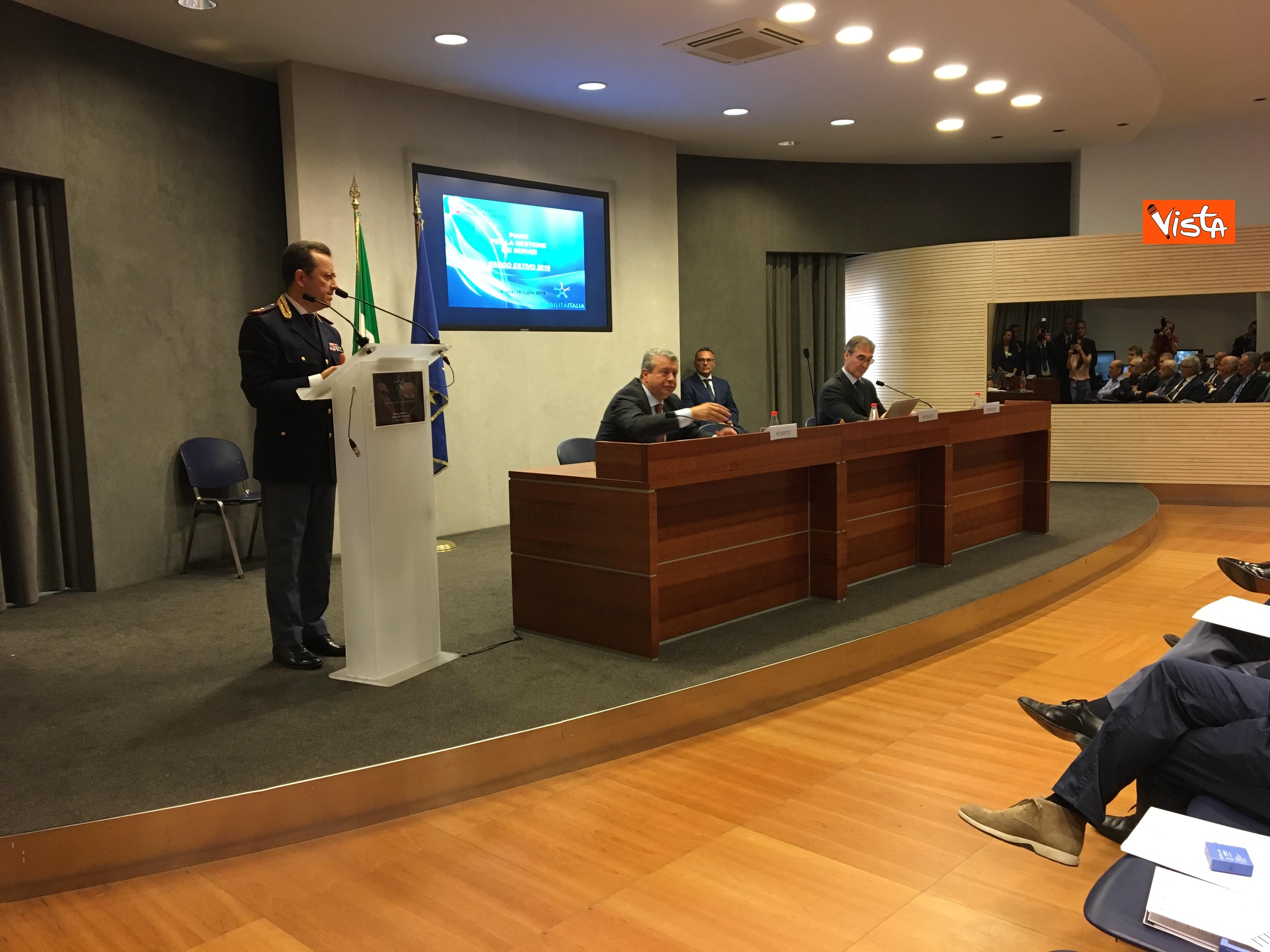 18-07-19 Viabilita Italia il piano di gestione per l esodo estivo presentato al Viminale immagini_12