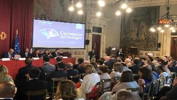 1 - Cerimonia del Ventaglio a Montecitorio, Fico incontra la stampa parlamentare immagini