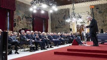 4 - Mattarella alla presentazione del Rapporto annuale dell'Associazione Italiadecide