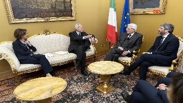 2 - Mattarella alla presentazione del Rapporto annuale dell'Associazione Italiadecide