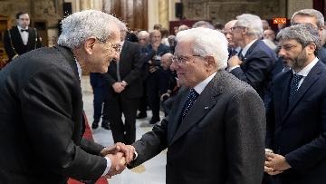 5 - Mattarella alla presentazione del Rapporto annuale dell'Associazione Italiadecide