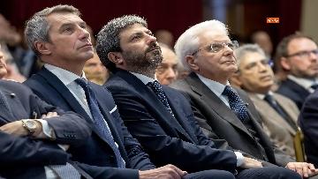 3 - Mattarella alla presentazione del Rapporto annuale dell'Associazione Italiadecide