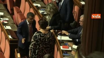 10 - 10-09-19 Governo Conte chide la fiducia al Senato, vari momenti in Aula