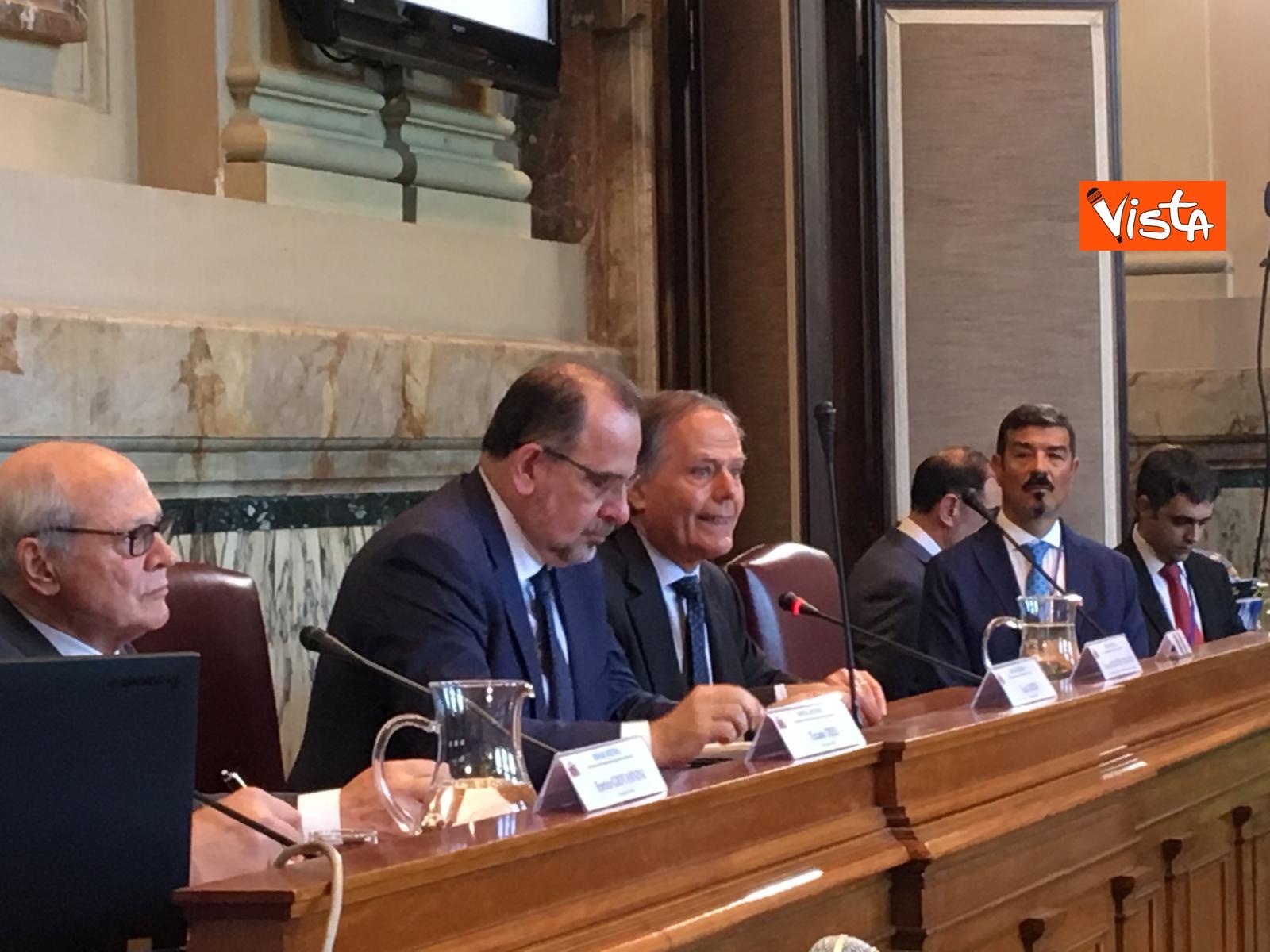 13-06-19 Mattarella a riunione Cnel europei a Roma_Il ministro degli Esteri Enzo Moavero Milanesi_14