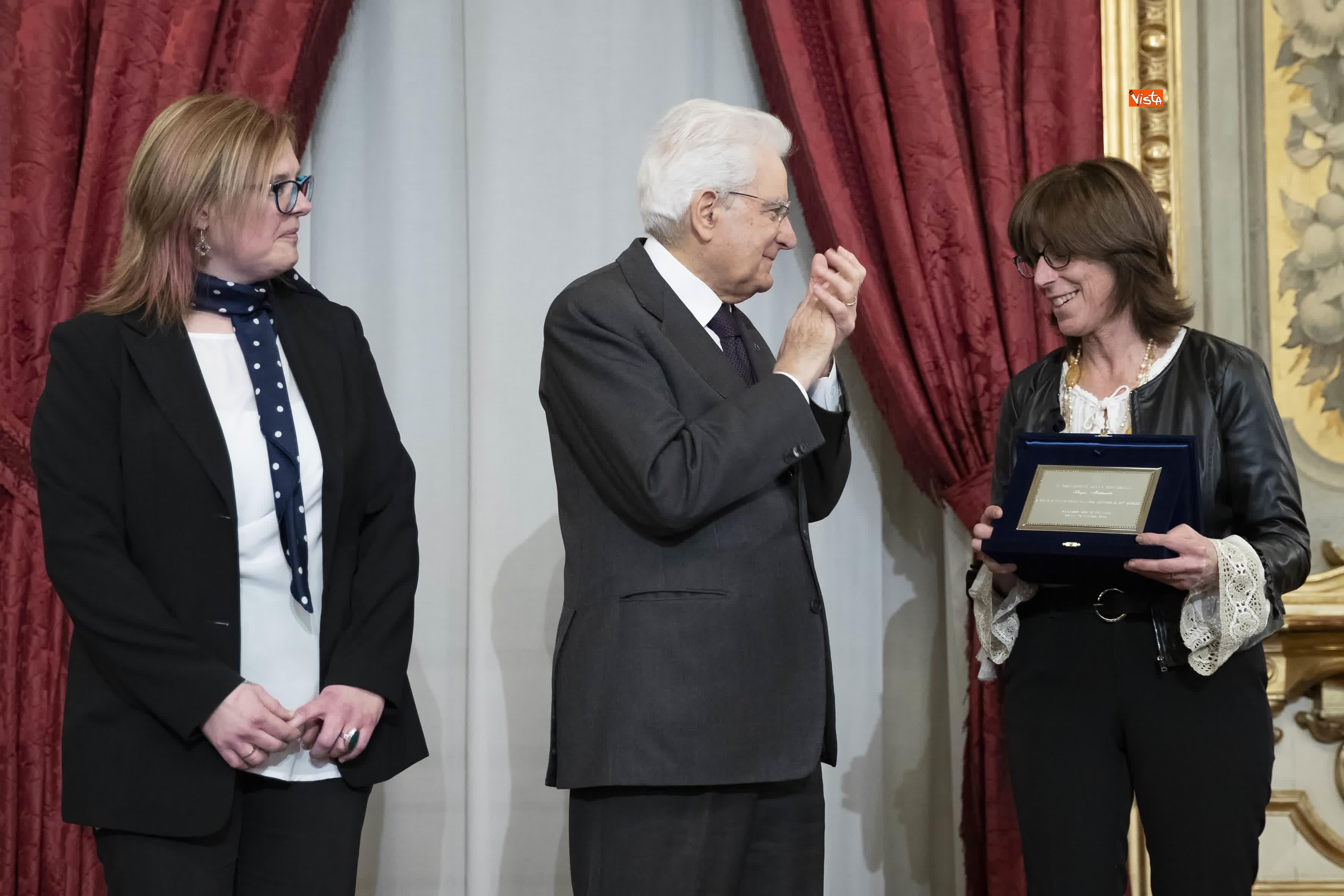 13-03-19 Mattarella consegna gli Attestati d Onore ai nuovi Alfieri della Repubblica, le immagini_25
