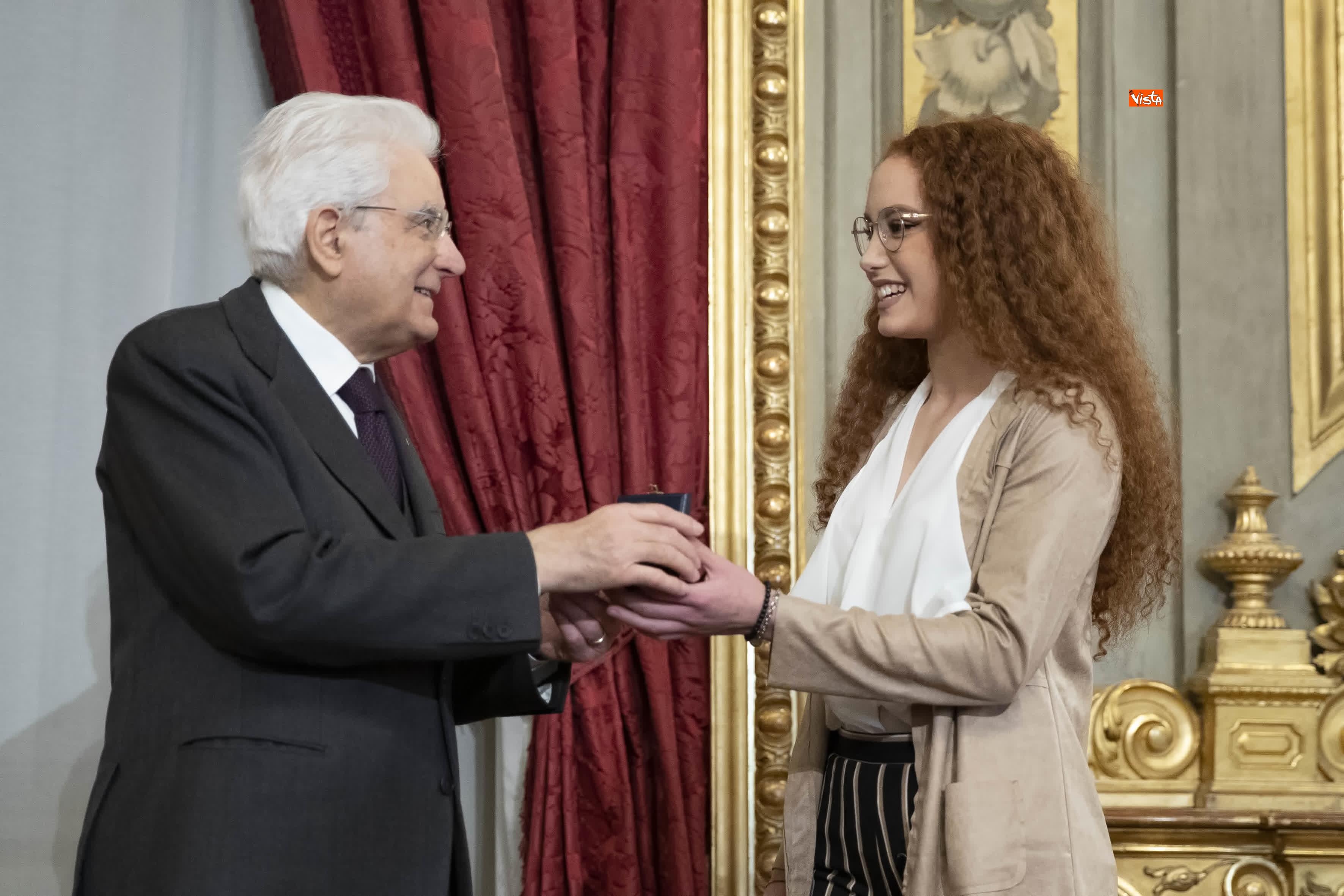 13-03-19 Mattarella consegna gli Attestati d Onore ai nuovi Alfieri della Repubblica, le immagini_14
