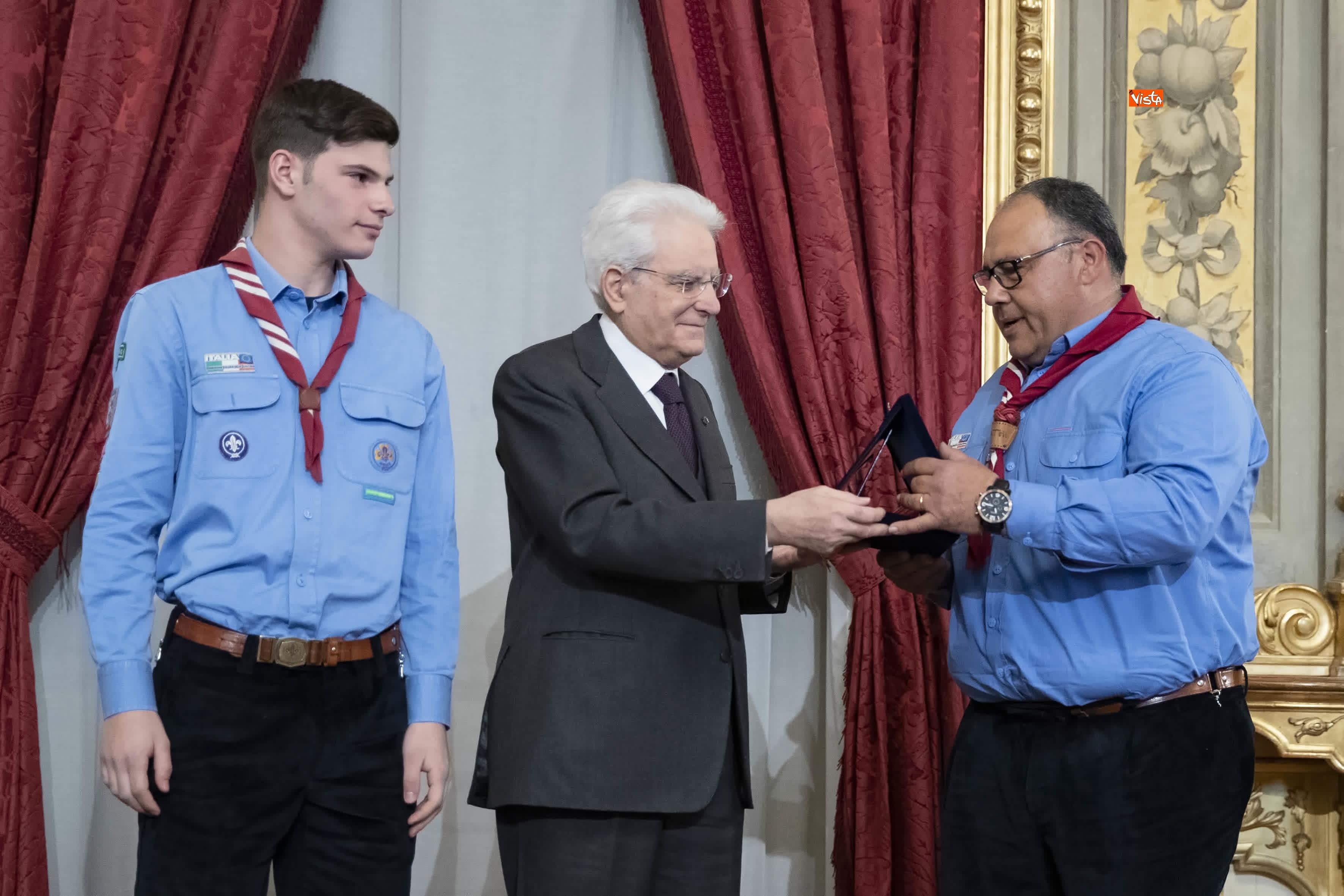 13-03-19 Mattarella consegna gli Attestati d Onore ai nuovi Alfieri della Repubblica, le immagini_24