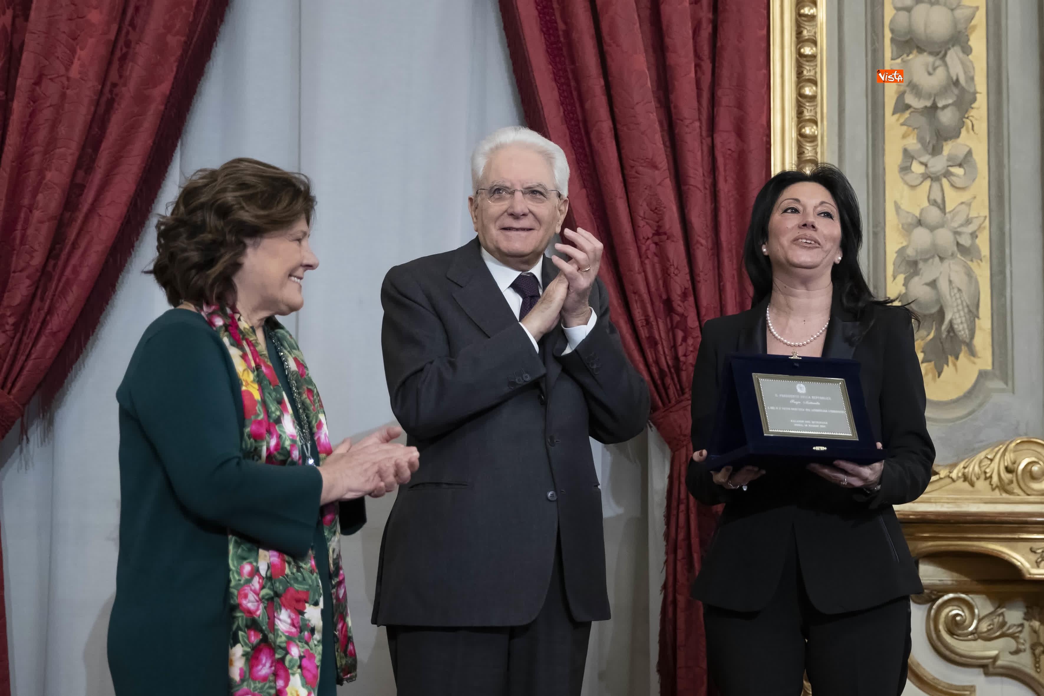 13-03-19 Mattarella consegna gli Attestati d Onore ai nuovi Alfieri della Repubblica, le immagini_26