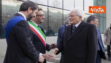 1 - Mattarella all'inaugurazione dell'anno accademico Università di Teramo, le immagini