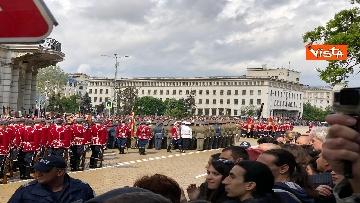 7 - La parata militare a Sofia per la festa dell'esercito in occasione di San Giorgio