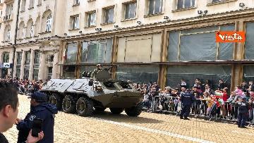 11 - La parata militare a Sofia per la festa dell'esercito in occasione di San Giorgio