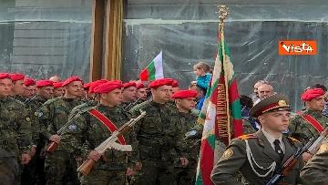 2 - La parata militare a Sofia per la festa dell'esercito in occasione di San Giorgio