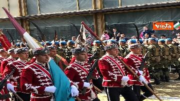 9 - La parata militare a Sofia per la festa dell'esercito in occasione di San Giorgio