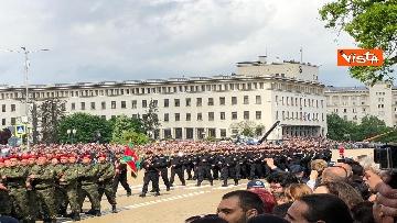 5 - La parata militare a Sofia per la festa dell'esercito in occasione di San Giorgio