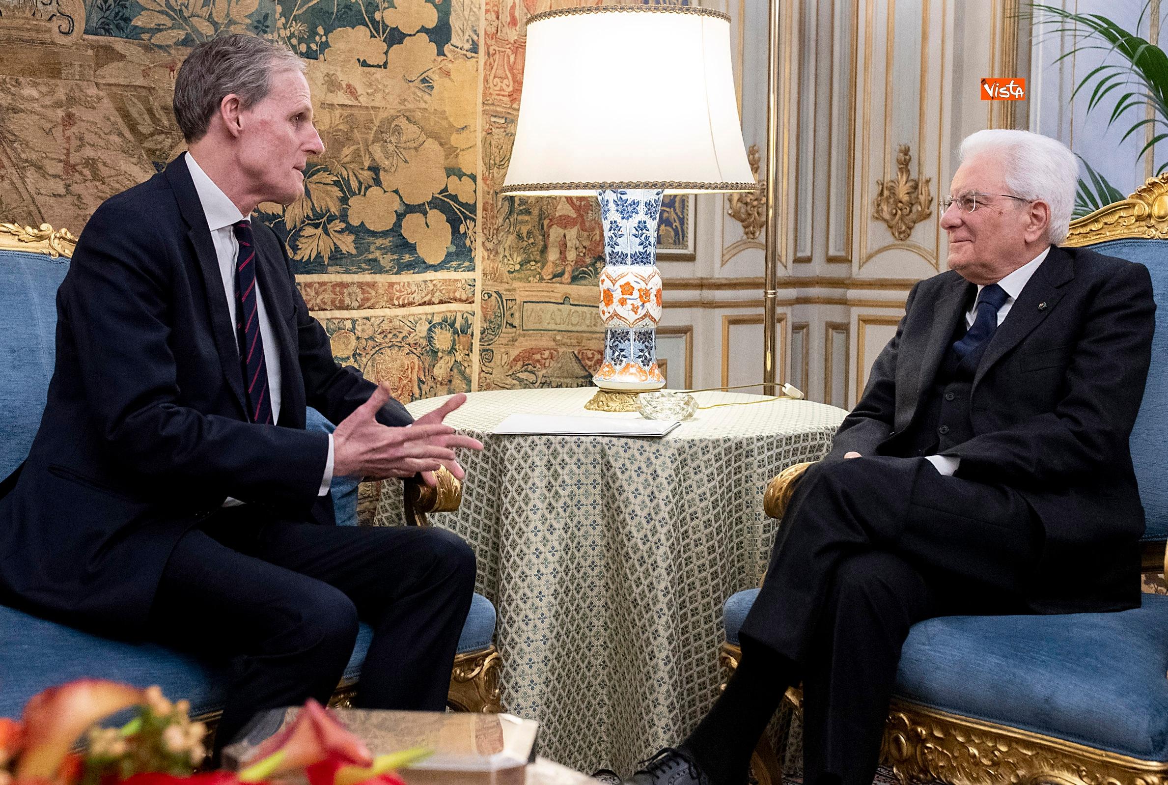 Mattarella incontra l'ambasciatore francese Masset al Quirinale_04
