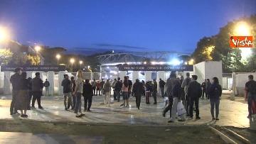 12 - Roma-Liverpool, le immagini fuori dall'Olimpico