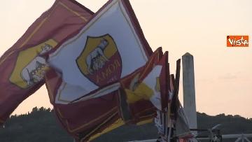 3 - Roma-Liverpool, le immagini fuori dall'Olimpico