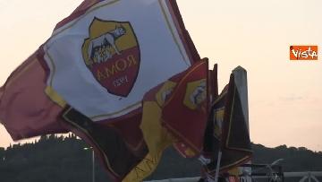 4 - Roma-Liverpool, le immagini fuori dall'Olimpico