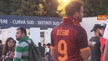 7 - Roma-Liverpool, le immagini fuori dall'Olimpico