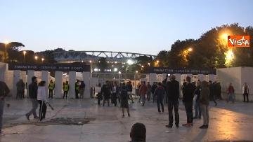 9 - Roma-Liverpool, le immagini fuori dall'Olimpico