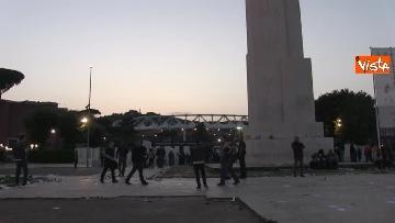 6 - Roma-Liverpool, le immagini fuori dall'Olimpico