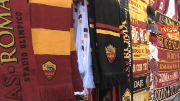 2 - Roma-Liverpool, le immagini fuori dall'Olimpico