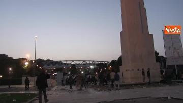 8 - Roma-Liverpool, le immagini fuori dall'Olimpico
