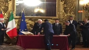 7 - Il giuramento di Salvini, Ministro dell'Interno