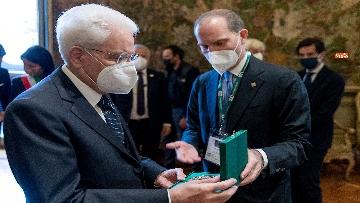 5 - Mattarella alla cerimonia per il centenario di Confagricoltura