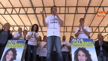 1 - Il comizio di Salvini a Cantù