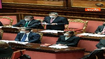 4 - Ecco il Governo Draghi al completo in Aula al Senato il giorno della fiducia