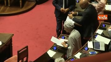 1 - 10-09-19 Governo Conte chide la fiducia al Senato, vari momenti in Aula