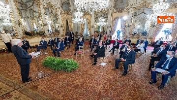 6 - Mattarella incontra al Quirinale i Presidenti di Regione
