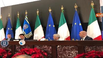 8 - La conferenza stampa di fine anno del premier Conte