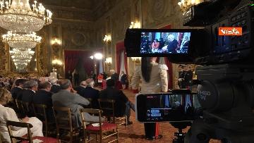 11 - Cerimonia del Ventaglio con Mattarella al Quirinale immagini