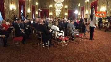 12 - Cerimonia del Ventaglio con Mattarella al Quirinale immagini