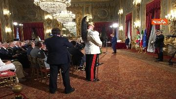 2 - Cerimonia del Ventaglio con Mattarella al Quirinale immagini