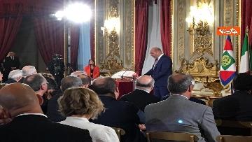 3 - Cerimonia del Ventaglio con Mattarella al Quirinale immagini