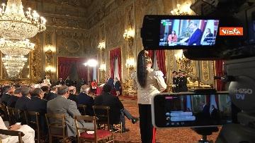 5 - Cerimonia del Ventaglio con Mattarella al Quirinale immagini