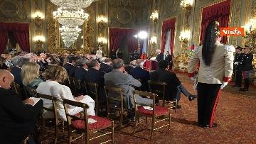 14 - Cerimonia del Ventaglio con Mattarella al Quirinale immagini