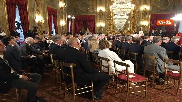 4 - Cerimonia del Ventaglio con Mattarella al Quirinale immagini
