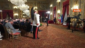 6 - Cerimonia del Ventaglio con Mattarella al Quirinale immagini